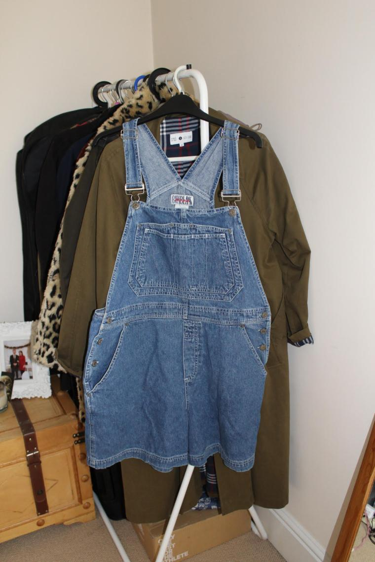Upcycling Clothes Upcycling Dungarees Bella Green