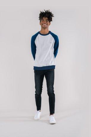 KTO-Chak-Glacier-Grey-Navy-Sleeves-Contrast-Raglan-Sweatshirt-Mens-2-Organic-Fairtrade