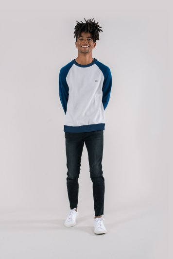 KTO-Chak-Glacier-Grey-Navy-Sleeves-Contrast-Raglan-Sweatshirt-Mens-2-Organic-Fairtrade