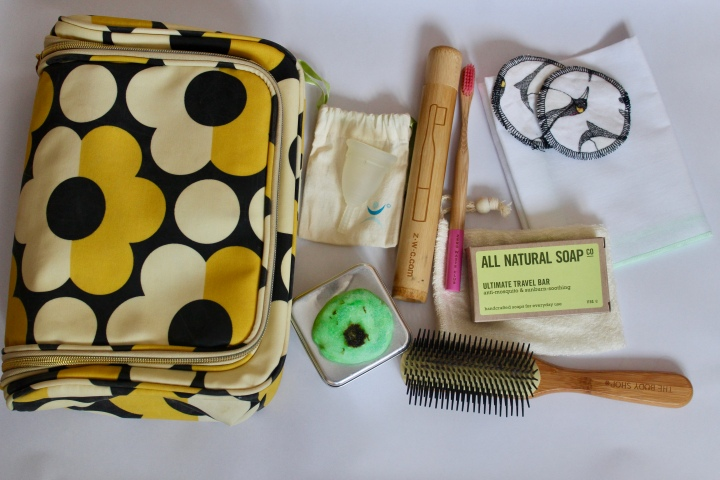 Plastic Free: Wash Bag